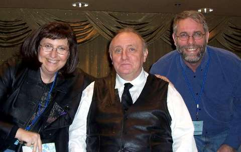 Connie and Michael with the KING, Dr. Richard Bandler.