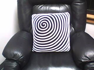 The hypnotic trance chair awaits you!
