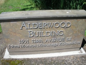 I'm in Alderwood #103
