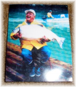 Dad and the fish
