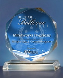 Mindworks Hypnosis Receives 2011 Best of Bellevue Award