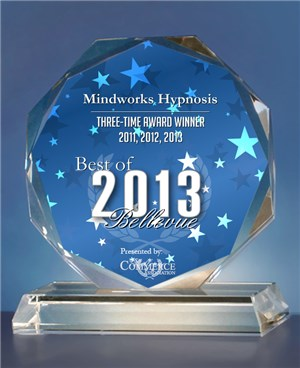 Mindworks Hypnosis is Best of Bellevue for 2013