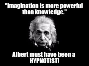 Albert Einstein hypnotist