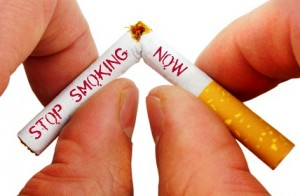 Stop smoking now.
