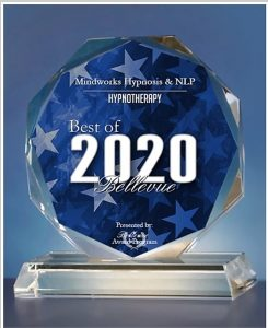 Mindworks Hypnosis Receives 2020 Best of Bellevue Award for Hypnotherapy