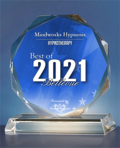 Mindworks Hypnosis Receives 2021 Best of Bellevue Award for Hypnotherapy